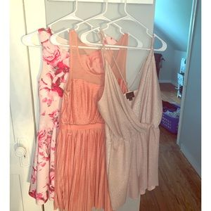 Pink Dress Bundle